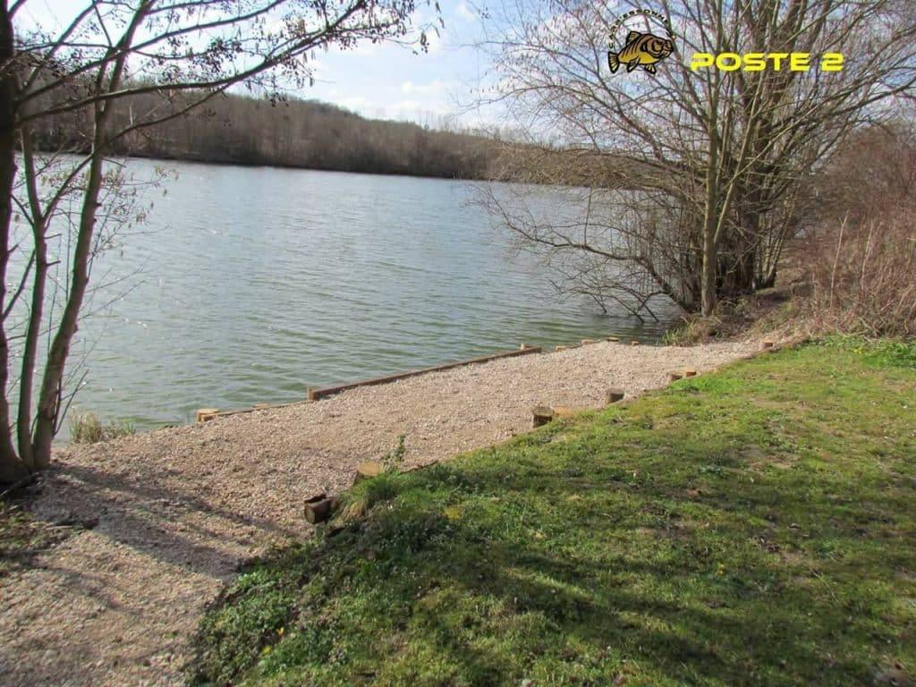 Poste 2 de l'étang Carpanium