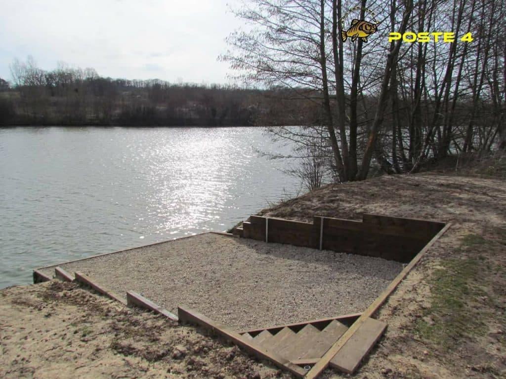 Poste 4 de l'étang Carpanium