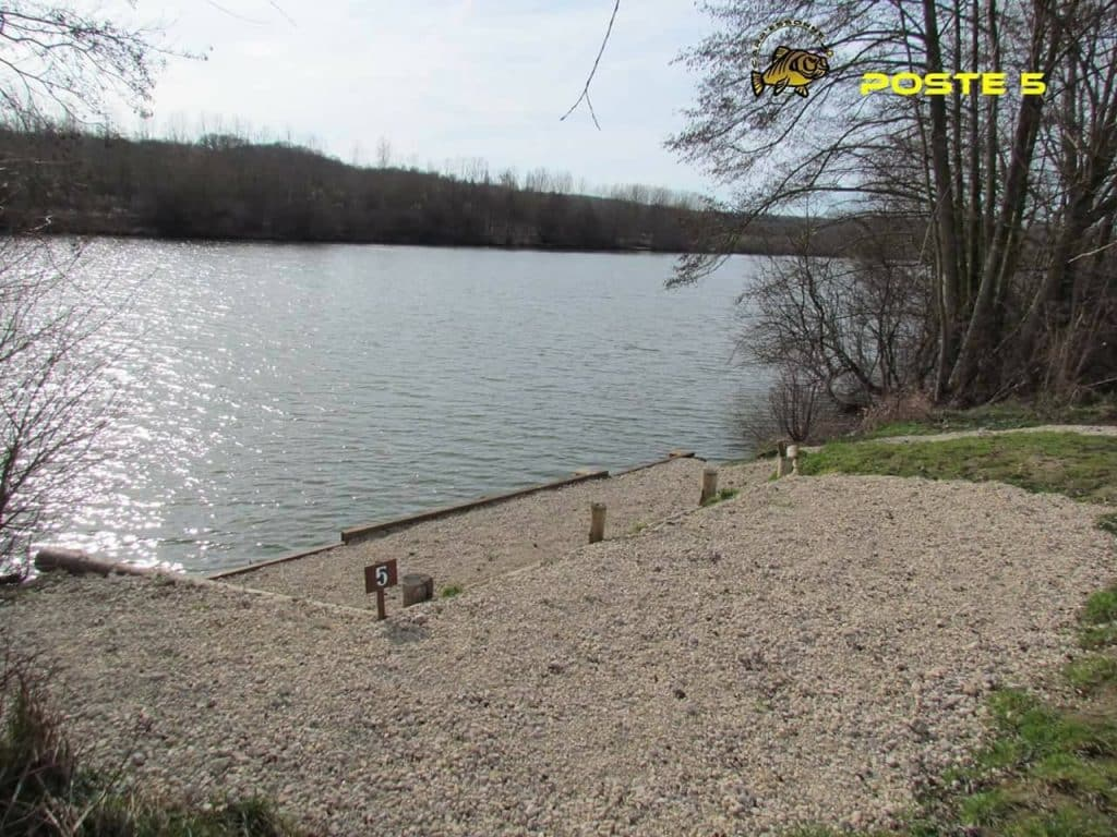 Poste 5 de l'étang Carpanium