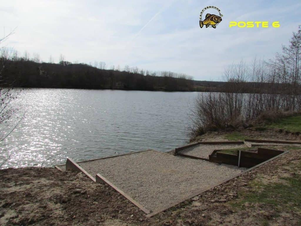 Poste 6 de l'étang Carpanium