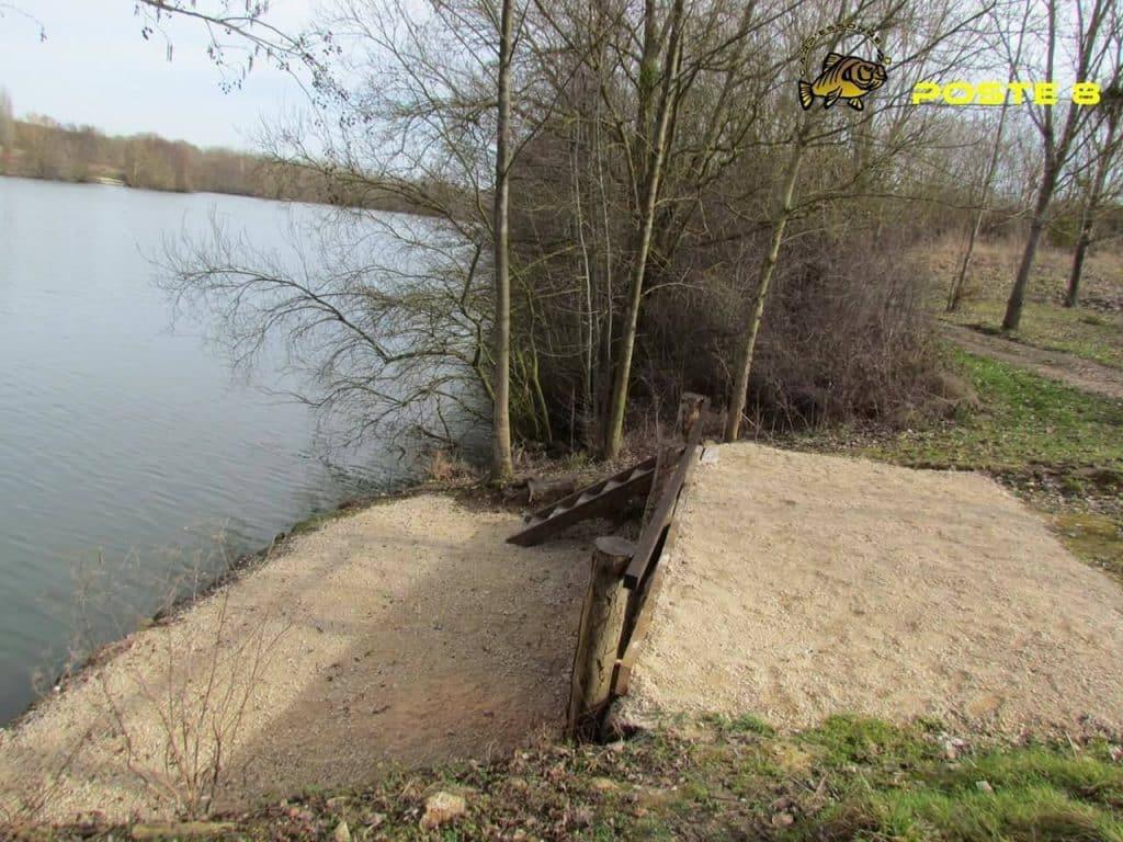Poste 8 de l'étang Carpanium